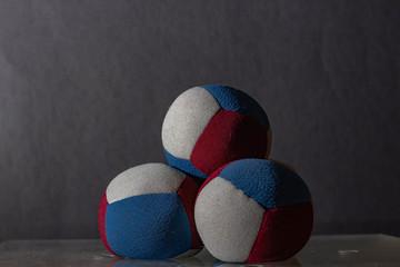 foto de articulos para malabares pelotas de tela