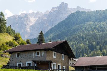 Scorci di Santa Cristina Valgardena, Bolzano, Trentino Alto Adige, Italia