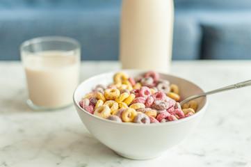 Cereales de colores