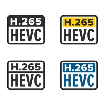 H.265 or HEVC High Efficiency Video Coding
