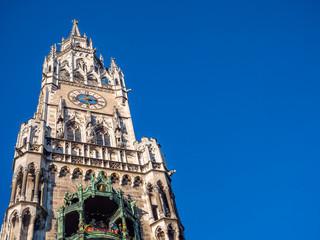 Rathausturm in München Bayern