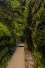 Schwedenlöcher - Saxon Switzerland National Park - Rathen Germany