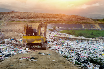 Dig on the garbage Solid waste management