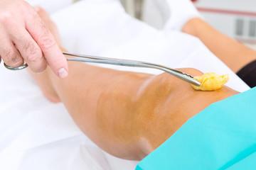 vorbereitung zur knieoperation