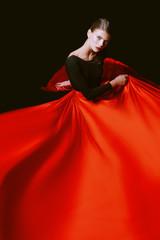 feminine beauty in dance