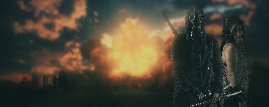 post apocalypse cinematic concept
