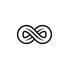 Infinity Music Logo Design Template