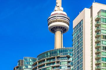 CN Tower architecture details, Toronto