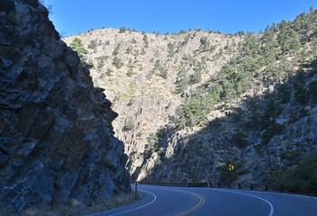 Road through Canyon