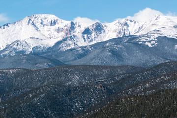 Sunny Pikes Peak