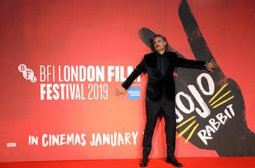 """European premiere of """"Jojo Rabbit"""" in London"""