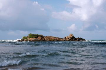 Traumstrand in Beruwela, Sri Lanka