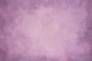 Purple abstract hand-painted vintage background