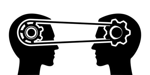 Understanding, exchange information, communications - vector