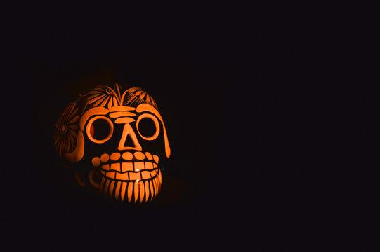 Mexican crafts skull, day of the dead, Mexican tradition, Día de Muertos, Calavera.