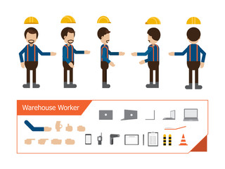 Set of workers