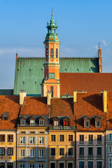 Old Town in City of Warsaw