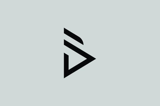 B Letter Linked Luxury Premium Logo