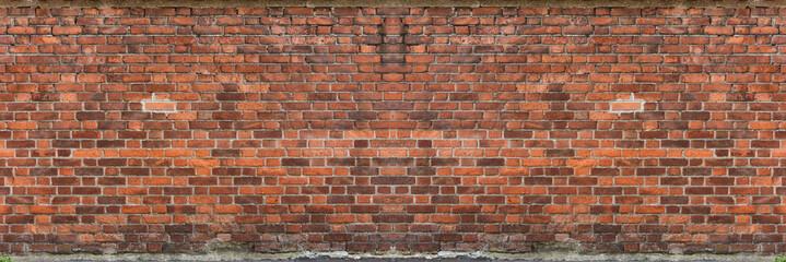Foto auf Acrylglas Ziegelmauer Red brick wall textured photography urban for graphic resource