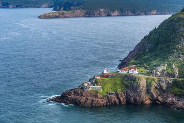 Fort Amherst Lighthouse, Newfoundland, Canada