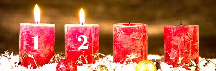 adventsgesteck, zweiter advent