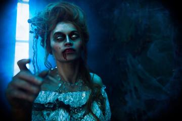 deceased lady became vampire