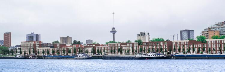 The Nieuwe maas in front of Euromast