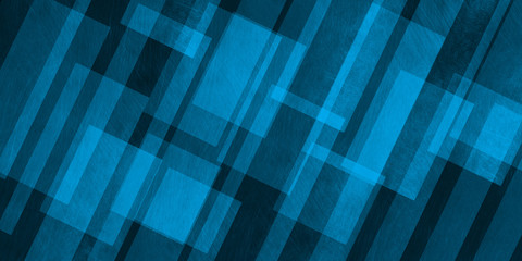 Abstract blue background from quadrangles, 3d illustration