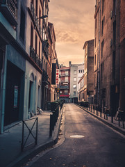 Street view of Toulouse