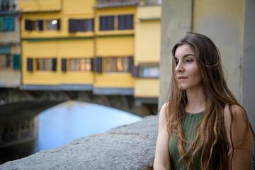 Bella Modella posa a Firenze