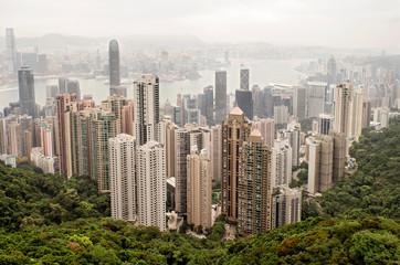 Fototapeta drapacz, wieza, panorama, krajobraz miasta, budowa, miasteczko,  obraz