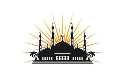 Mosque vector logo