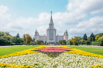 Lomonosov Moscow State University in Moscow, Russia