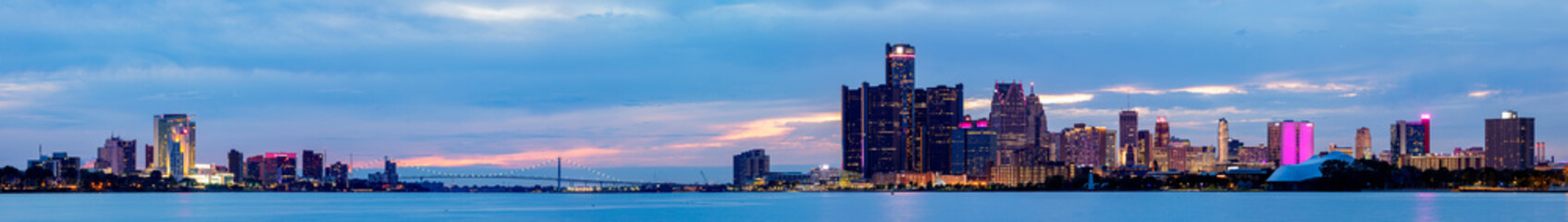 The Cities of Detroit and Windsor