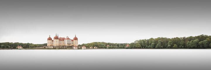 Türaufkleber Khaki Die Moritzburg in Sachsen