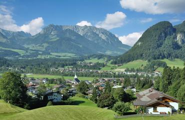 Urlaubsort Kössen in Tirol,Österreich