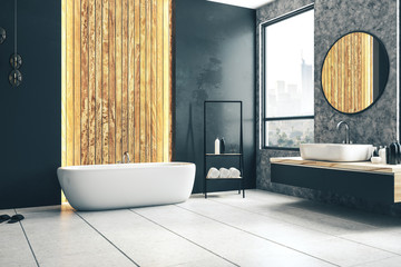 Wall Mural - Stylish bathroom interior