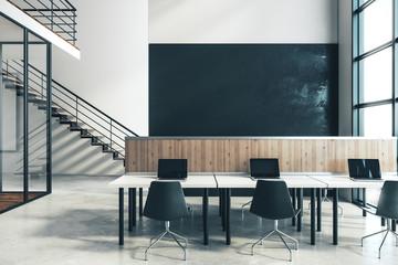 Fototapete - Modern coworking office