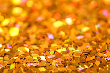 Colour glitters. Shiny abstract background texture.