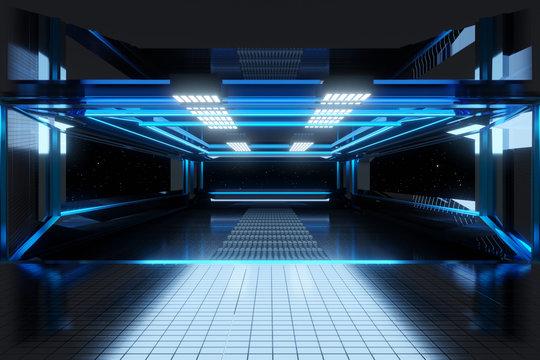 Space Station render