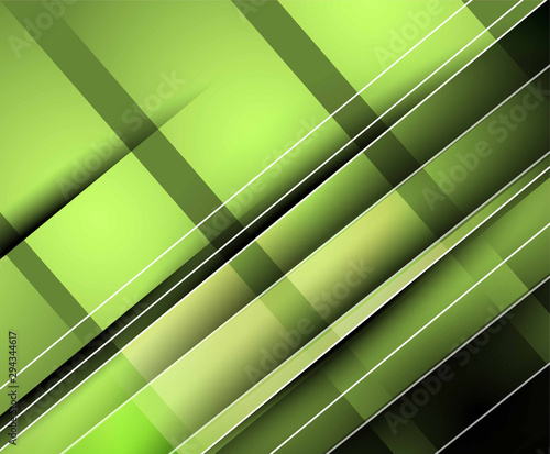 Abstract 3d Paper Graphics Colorful Pattern Design And