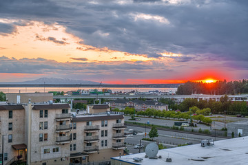 Anchorage Sunset