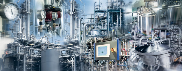 Production in the chemical and pharmaceutical industry