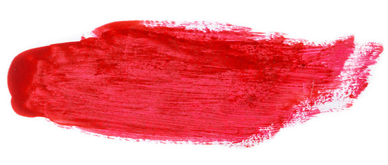 Red brush texture Wall mural
