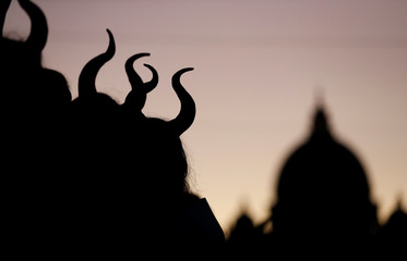 "European premiere of ""Maleficent: Mistress of Evil"" in Rome"