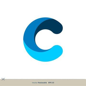 C Letter Logo Template Illustration Design. Vector EPS 10.