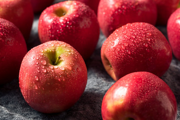 Raw Red Organic PInk Lady Apples