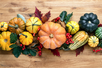 Thanksgiving country style decoration idea