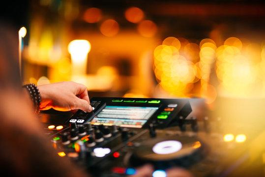 DJ Night Club Music Background