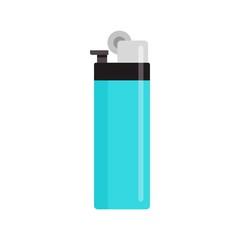 Classic cigarette lighter icon. Flat illustration of classic cigarette lighter vector icon for web design